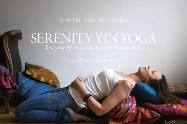 Serenity Yin Yoga book cover