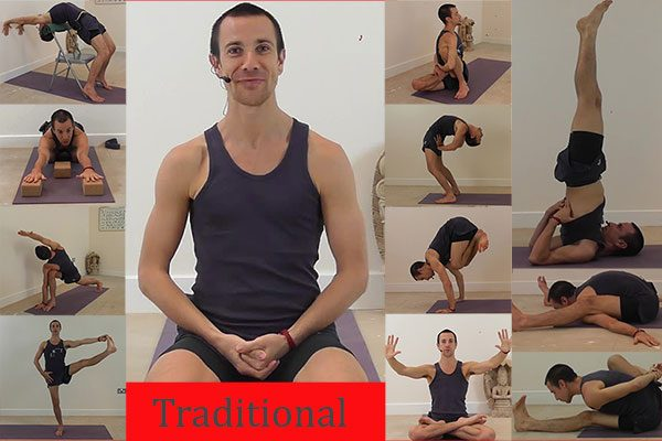 Ashtanga Yoga Primary Series Intensive Traditional Progression