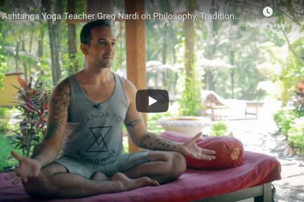 Greg Nardi on Philosophy, Tradition, Lineage, Modern Yoga